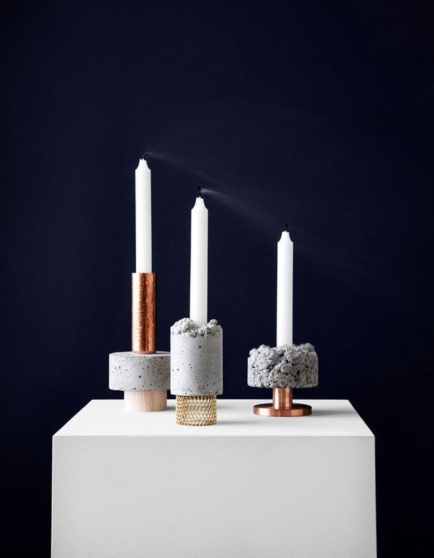 Bougeoir moderne Crowd Candle Holders