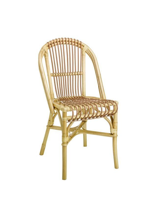 Une chaise en rotin pour la Fête des Mères