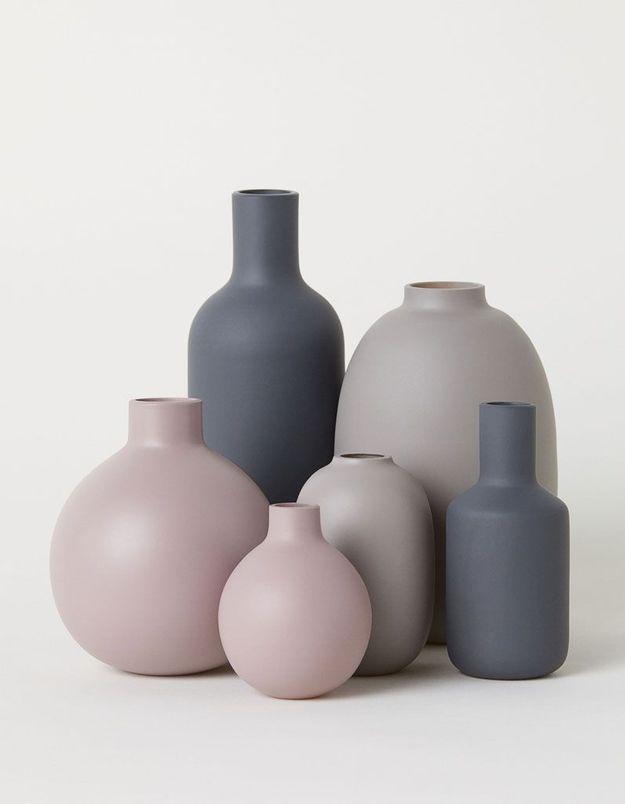 Mini vase en grès H&M Home