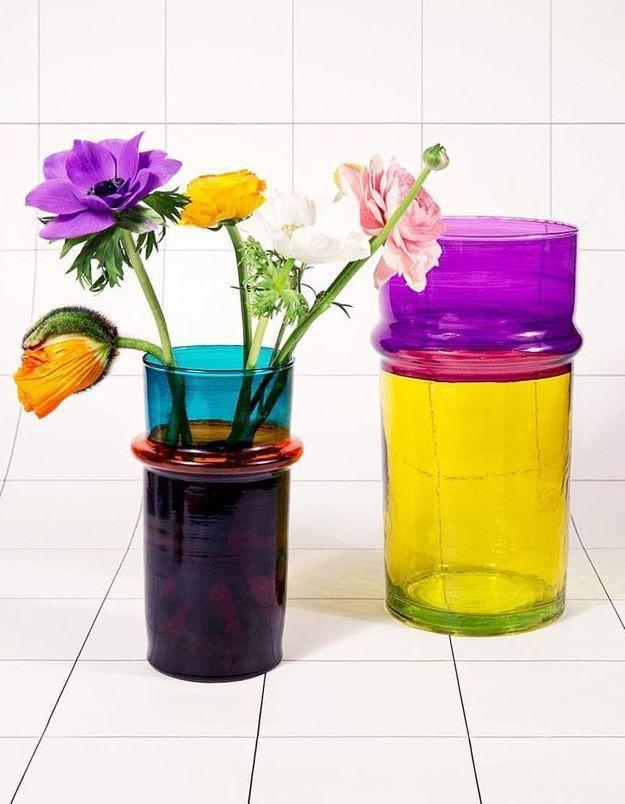 Un vase beldi bicolore Hay