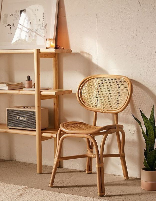 Une assise en rotin Urban Outfitters