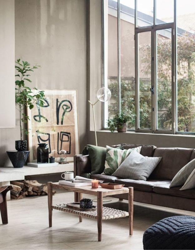 Une housse de coussin en coton H&M Home
