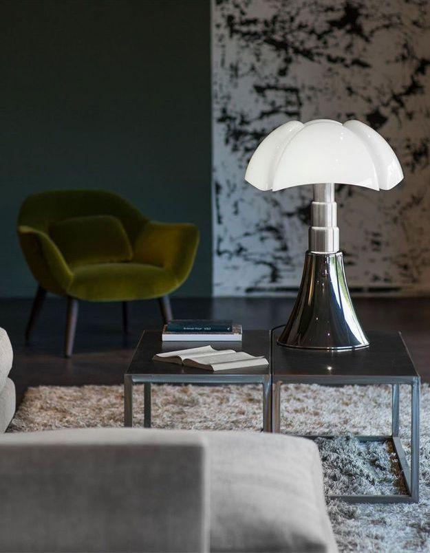 Une lampe iconique « Pipistrello » Martinelli Luce