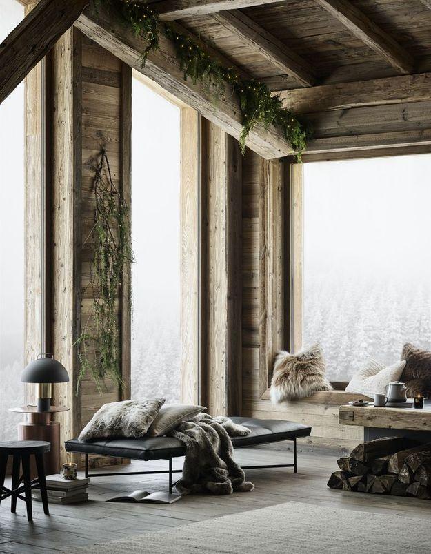 L'idée qu'on pique à la collection Noël H&M Home : succomber à l'esprit chalet