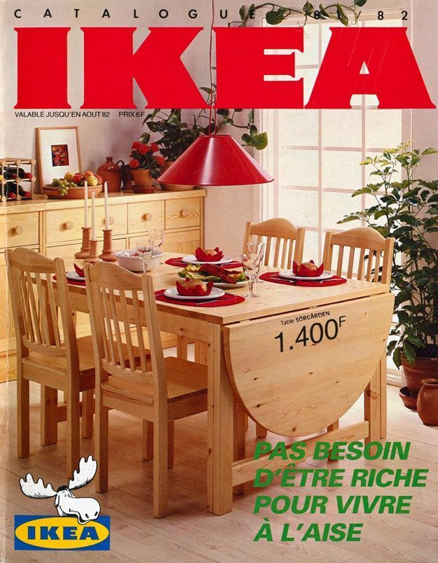 Catalogue IKEA 1982