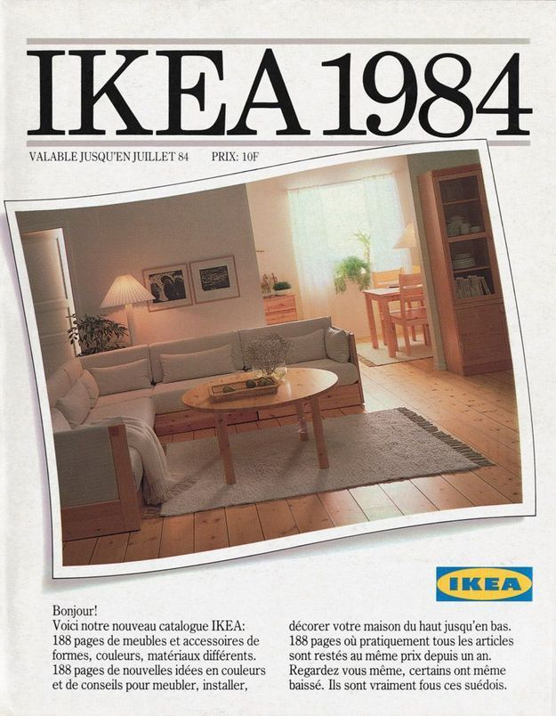 Catalogue IKEA 1984