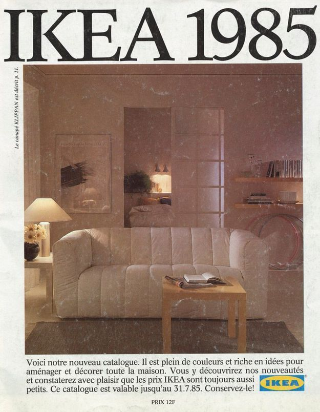 Catalogue IKEA 1985