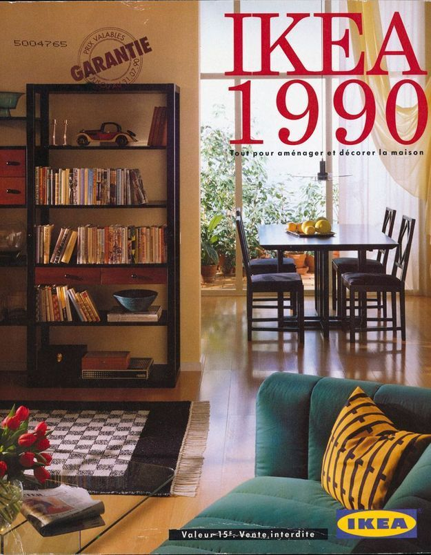 Catalogue IKEA 1990