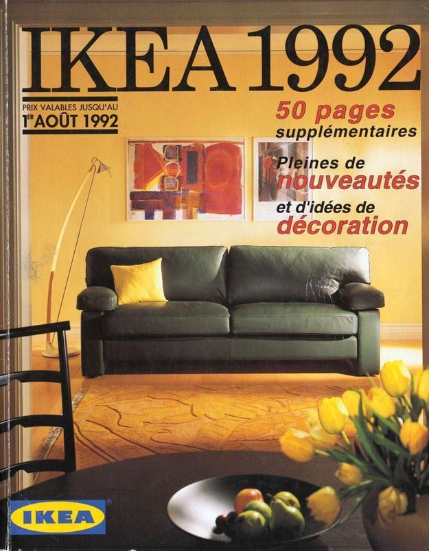 Catalogue IKEA 1992
