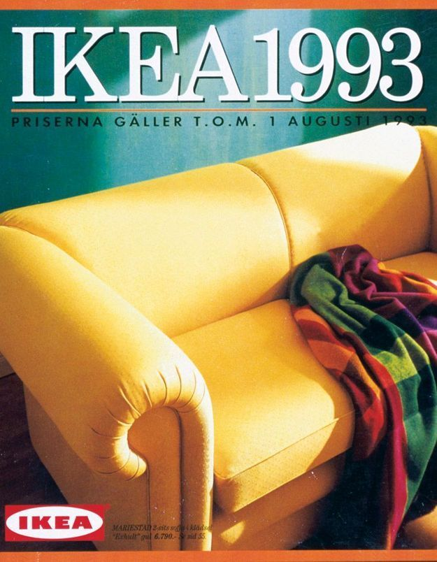 Catalogue IKEA 1993