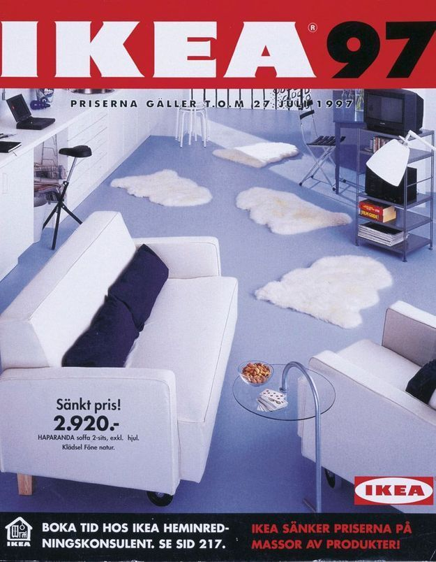 Catalogue IKEA 1997
