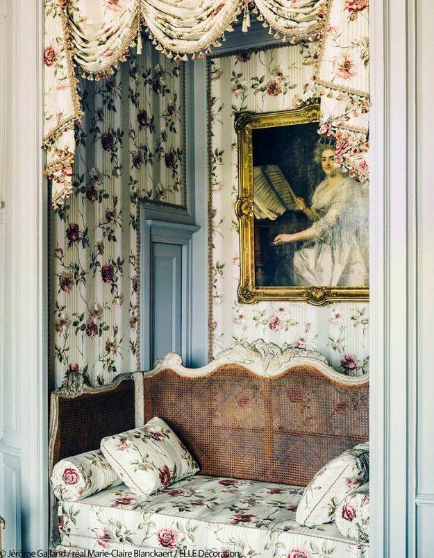 Alcôve ambiance Versailles revival