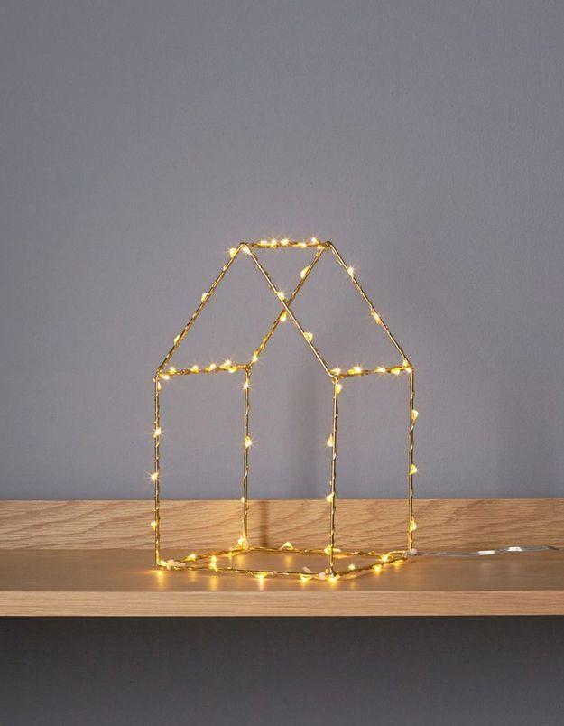 Maison lumineuse en 3D Cyrillus