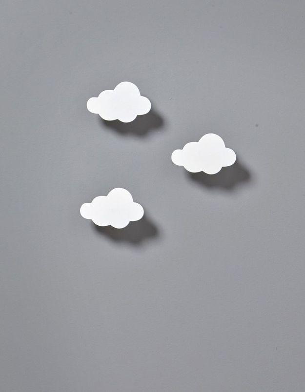 Patère en forme de nuage Cyrillus