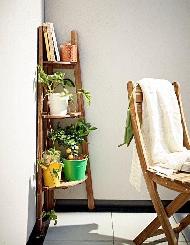 Piédestal d'angle Ikea