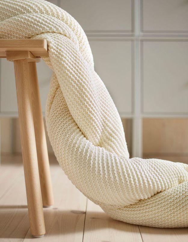 Plaid cocooning Ikea