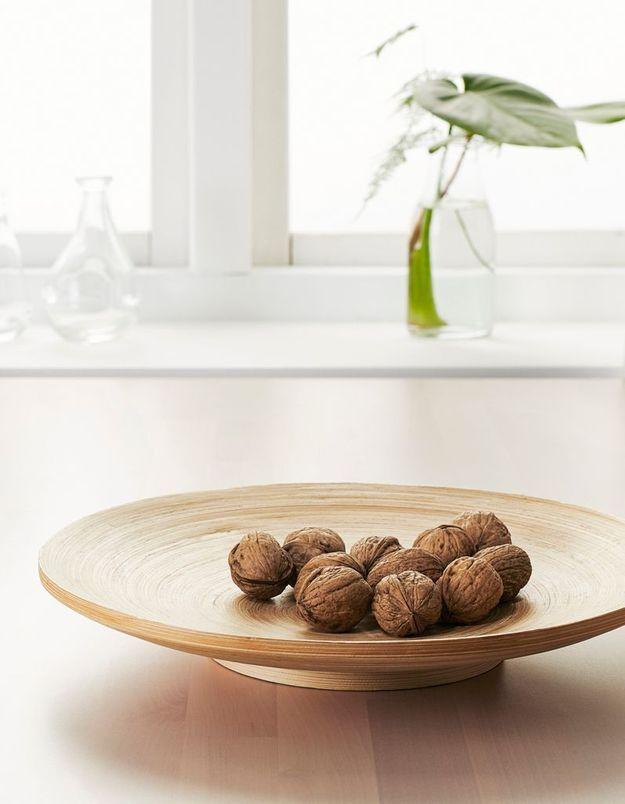 Plat en bambou Ikea