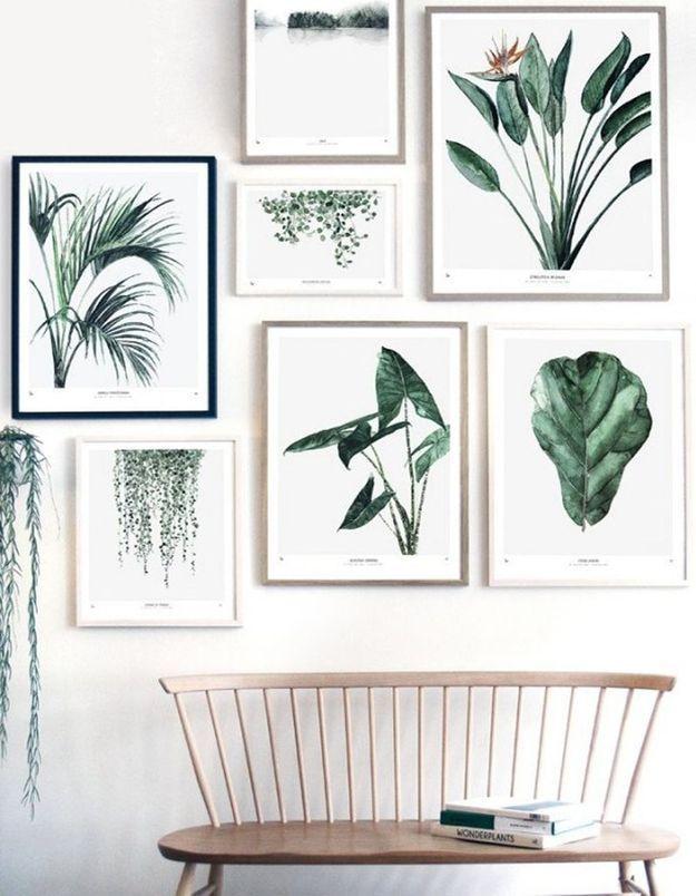 Affiche végétale