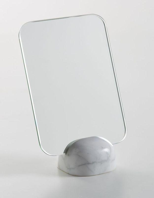 Miroir à poser en marbre