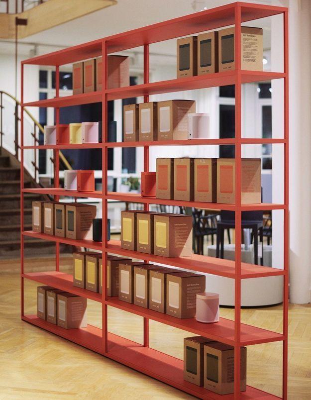 """Les 5 coloris de l'enceinte """"Sonos One"""" à la Hay House de Copenhague"""