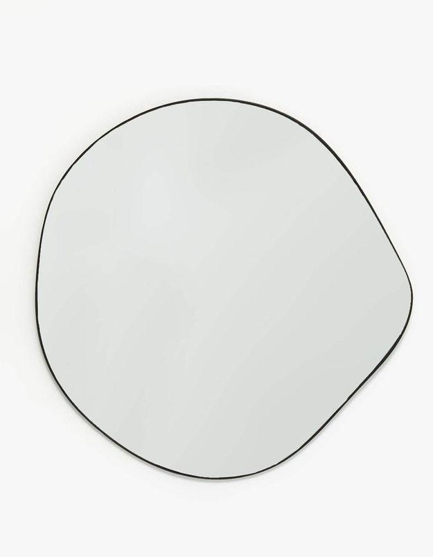 Miroir au contour irrégulier Zara Home