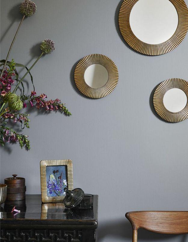 Miroir doré H&M Home