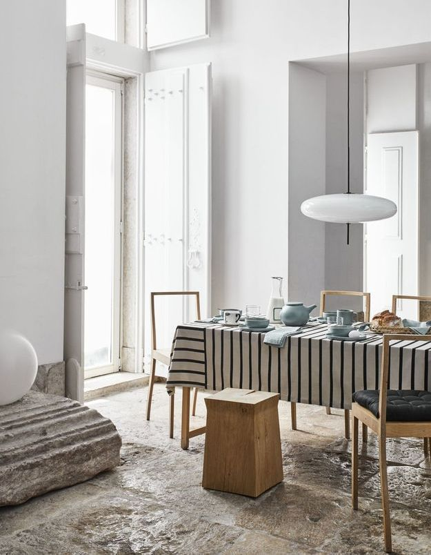 Une salle à manger scandinave