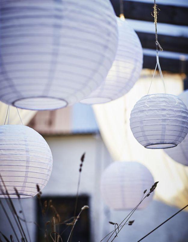 Installer des boules japonaises