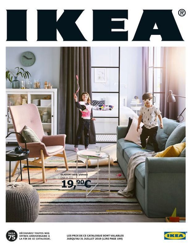 La couverture du catalogue IKEA 2019
