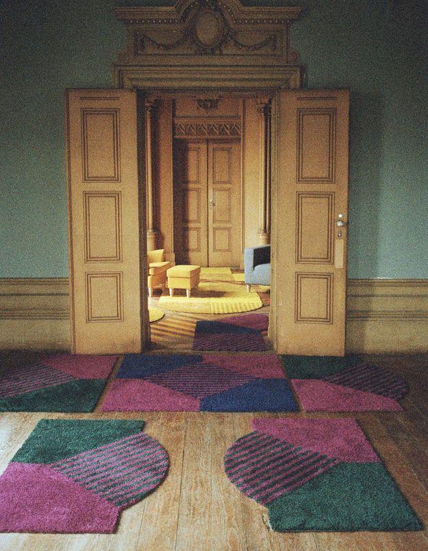 Le tapis en polyester SJÄLVSTÄNDIG