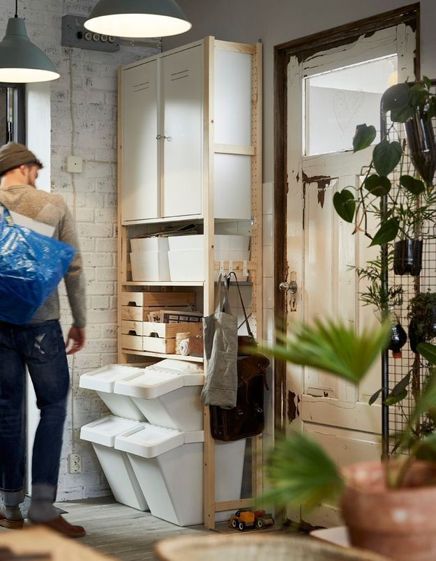 Aménager un coin tri des déchets pratique dans la maison