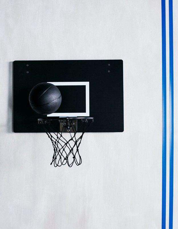 Panier de basket et ballon SPÄNST