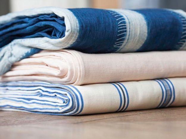 L'inspiration du jour : du textile tissé main