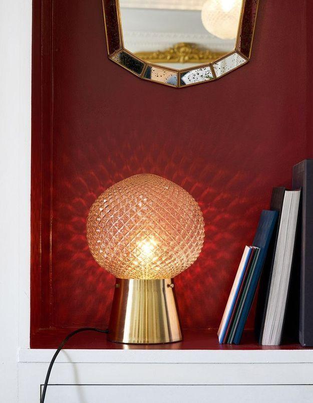 Lampe boule Maison Père x La Redoute Interieurs