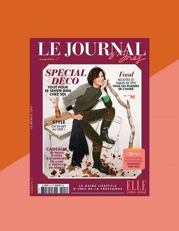 Le journal d'Ines : le nouveau numéro spécial déco en kiosques