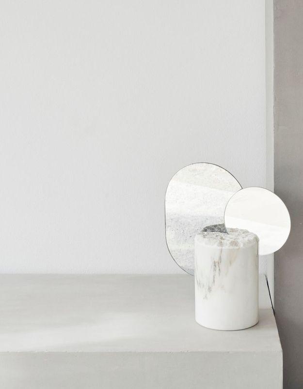 Miroir en marbre Kristina Dam