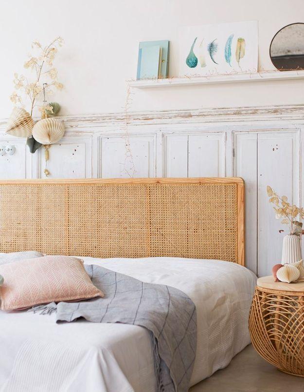 tendance d co le rotin un mat riau franchement hype. Black Bedroom Furniture Sets. Home Design Ideas