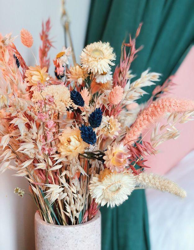 Les fleurs séchées, tu aimeras