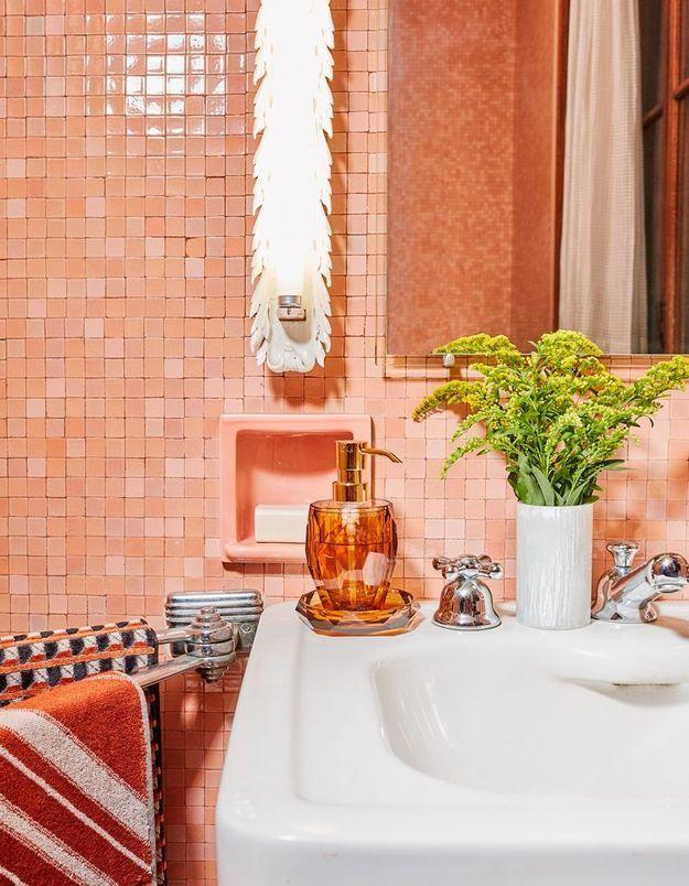 La salle de bains monochrome de Zara Home