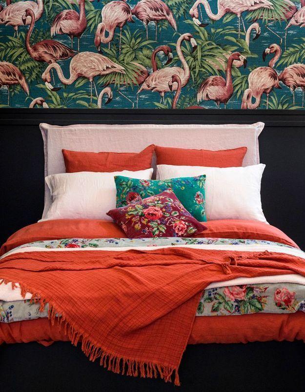 Le linge de lit vif de Harmony
