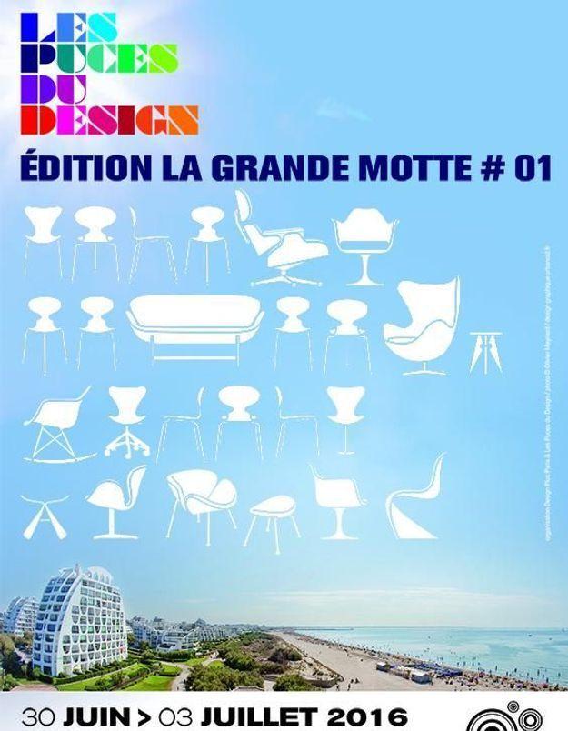 Les Puces du Design s'exportent à La Grande Motte