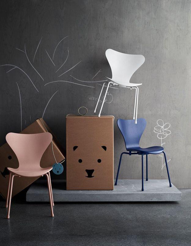 Chaise pour enfant, Fritz Hansen