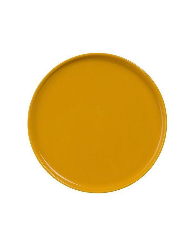 Assiette plate en faïence Maisons du Monde