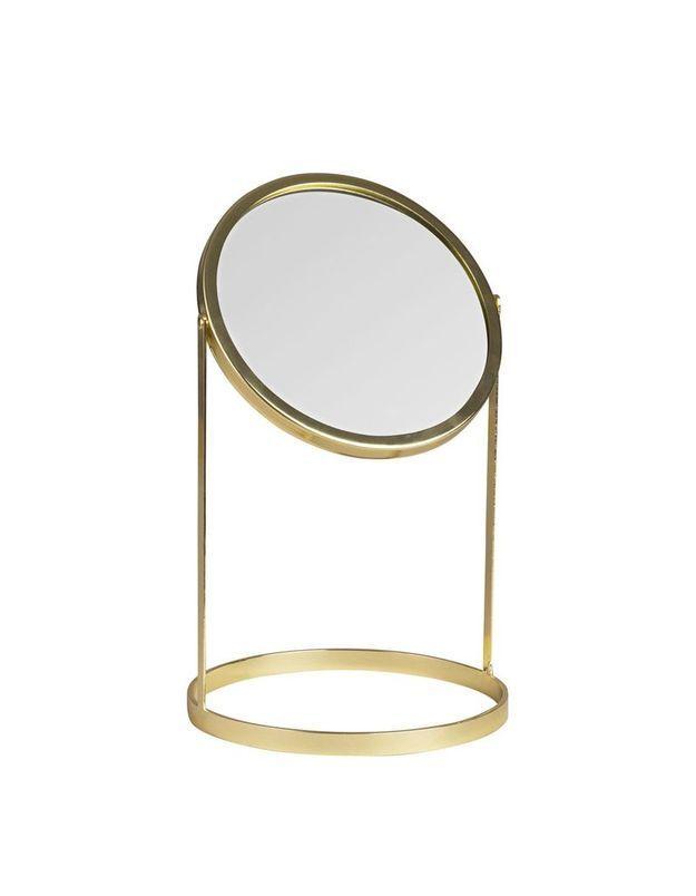 Miroir à poser en métal Maisons du Monde