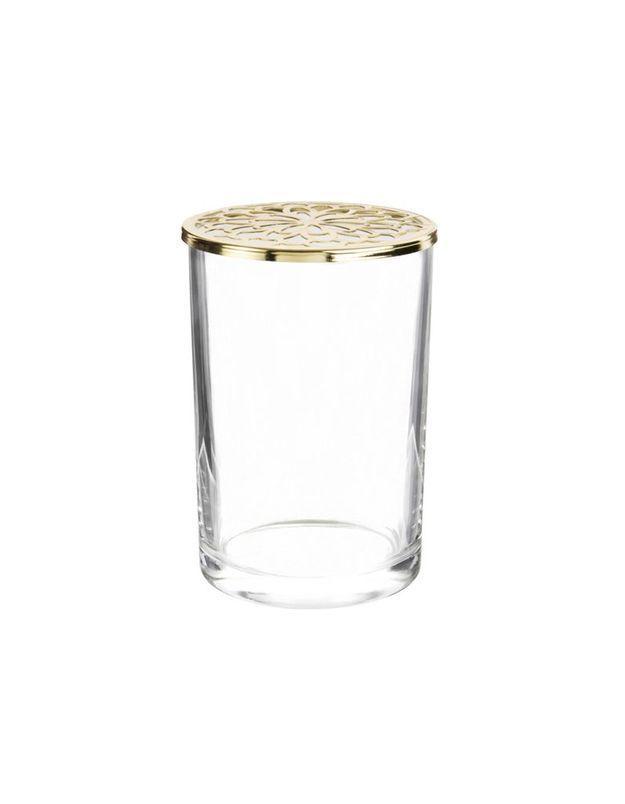 Vase en verre Maisons du Monde