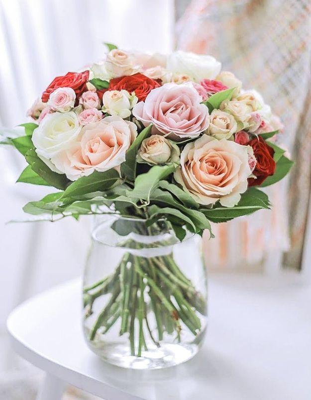 Interflora propose un bouquet solidaire pour Octobre Rose