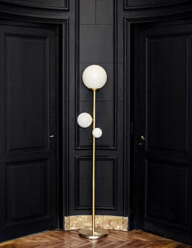 "Le lampadaire ""La Prudente"" de Desjeux Delaye"