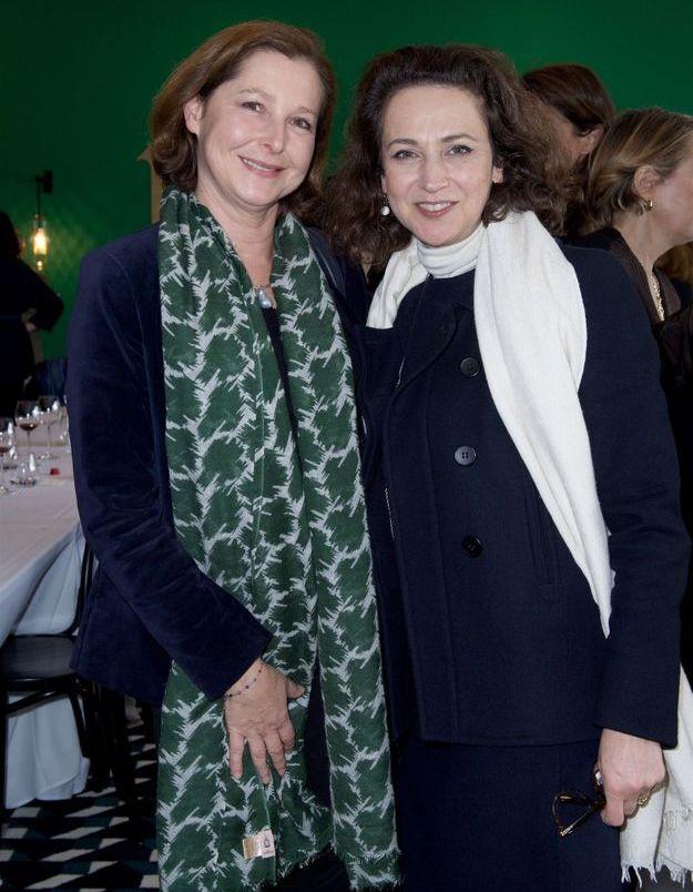 Elizabeth Leriche et Hélène Dubrule (Hermès)