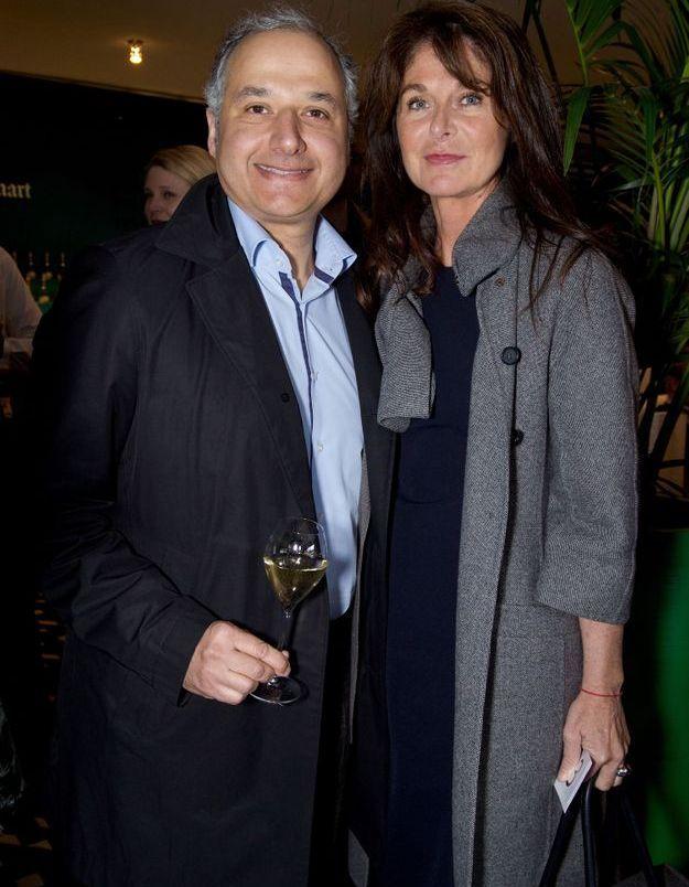 Gilles Bonan (Roche Bobois) et Caroline Pois (ELLE Décoration)