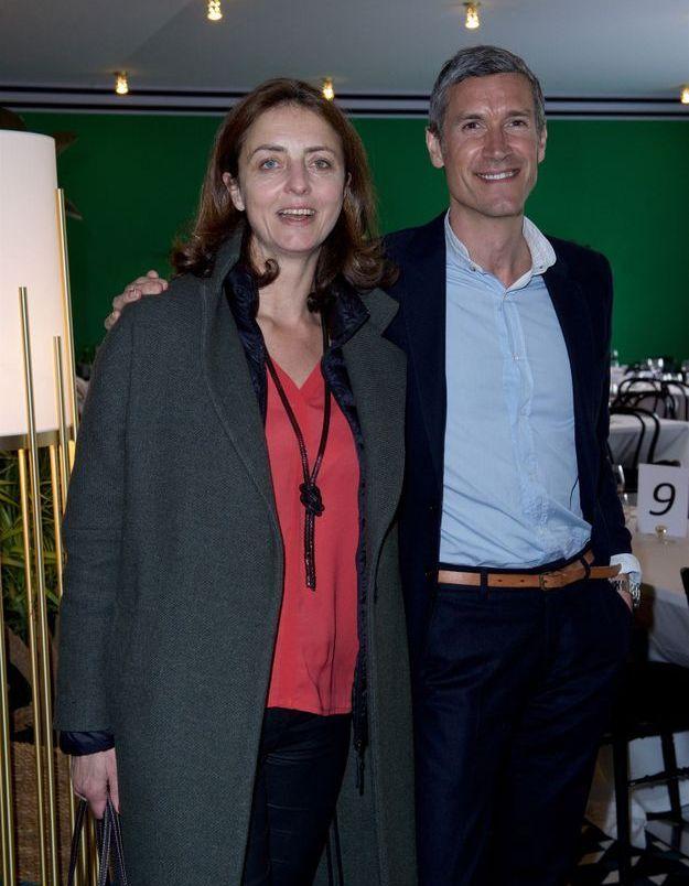 Marie-Charlotte Wambergue (Ruinart) et Patrick Robin (Lagardère Publicité)